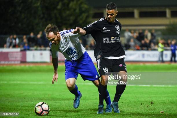 Hatem Ben Arfa of PSG during the Charity match between Variete Club de France and Selection Geodis on October 11 2017 in Poissy France