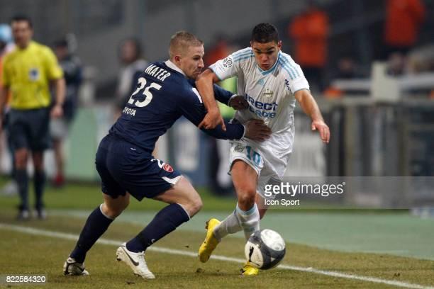 Hatem BEN ARFA / Rudy MATER Marseille / Valenciennes 23eme journee de Ligue 1 Marseille