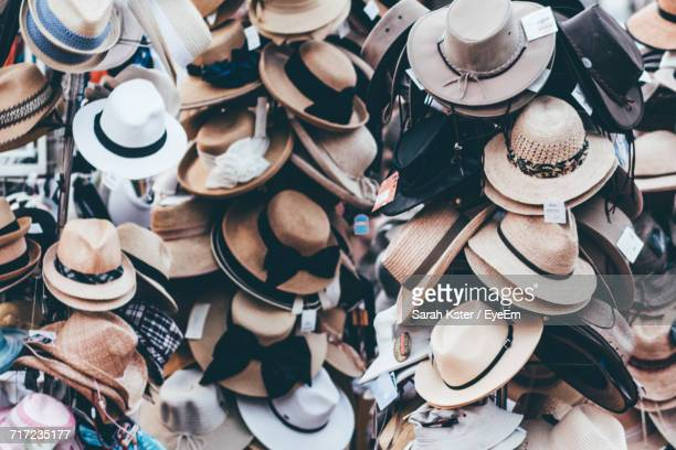Hats For Sale In Market