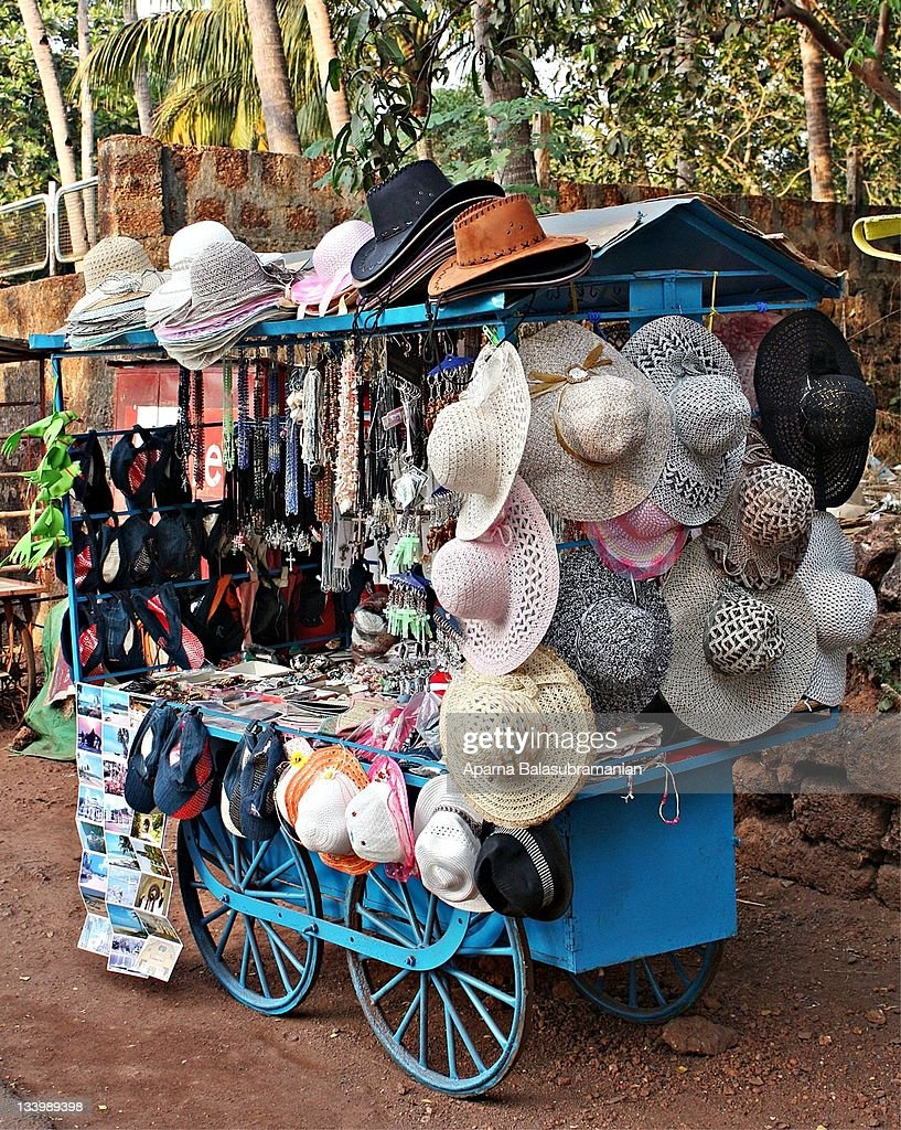 Hats for sale : Stock Photo