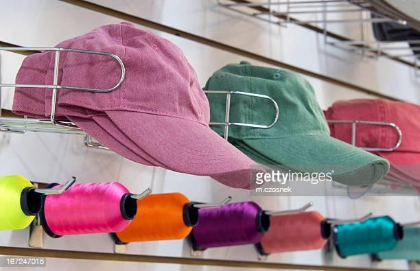 Chapeaux prêt pour la broderie
