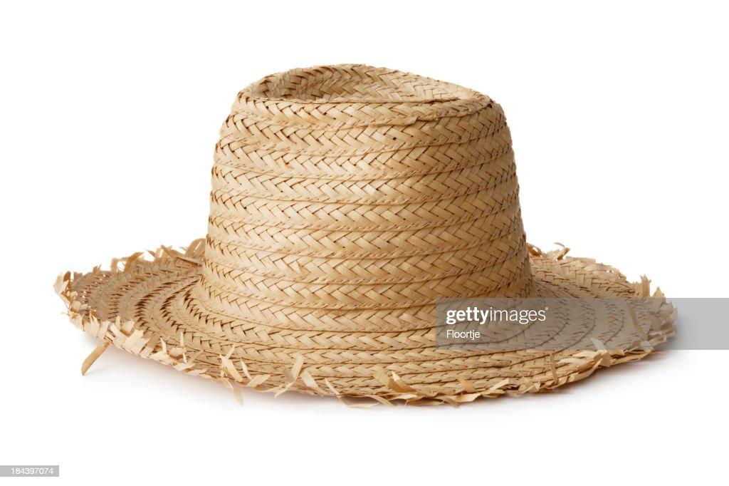 Hats: Straw hat
