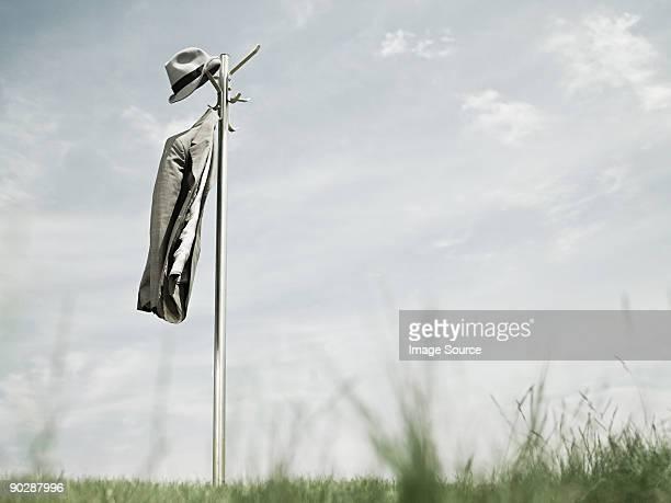 Hatstand outdoors