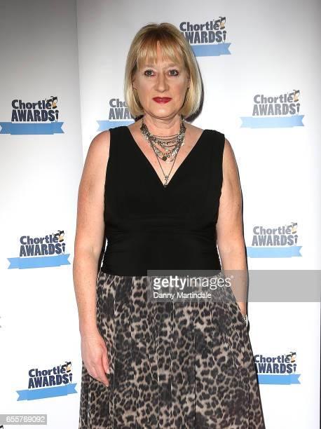 Hattie Hayridge attends the Chortle Comedy Awards 2017 on March 20 2017 in London United Kingdom