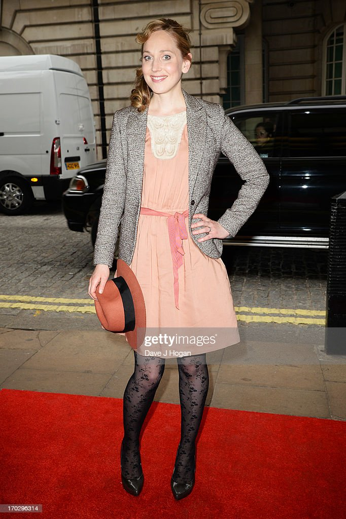 Hattie Morahan attends a gala screening of 'Summer In February' at The Curzon Mayfair on June 10, 2013 in London, England.