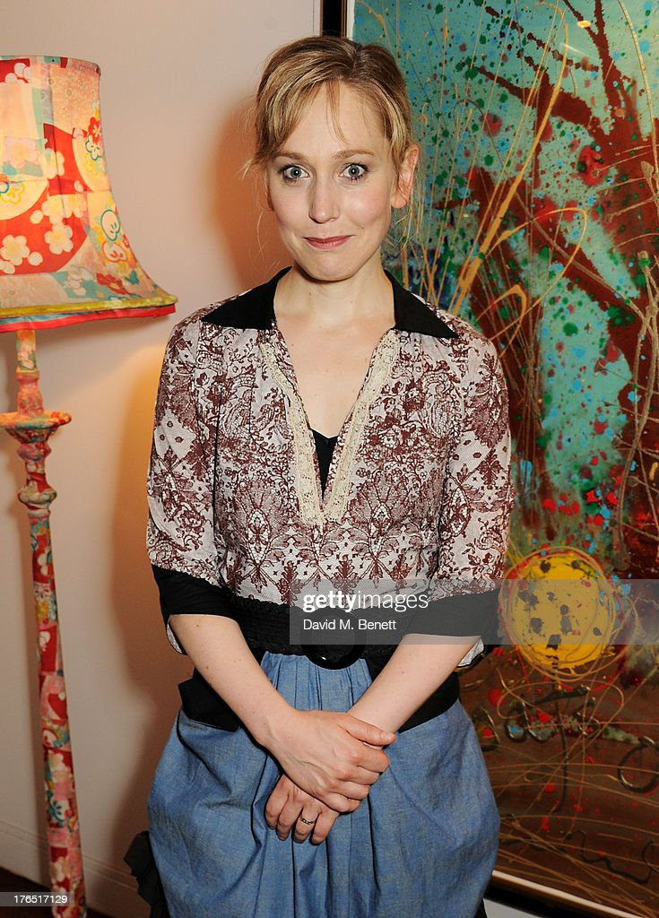 Hattie Morahan attends an after party following the press night performance of 'A Doll's House' at The Hospital Club on August 14, 2013 in London, England.
