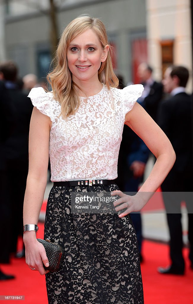 Hattie Morahan attends The Laurence Olivier Awards at The Royal Opera House on April 28, 2013 in London, England.