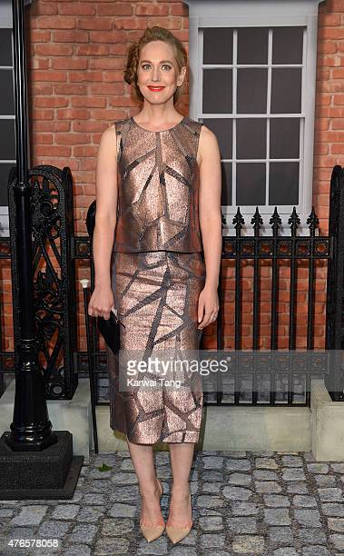 Hattie Morahan attends the UK Premiere of 'Mr Holmes' at ODEON Kensington on June 10 2015 in London England