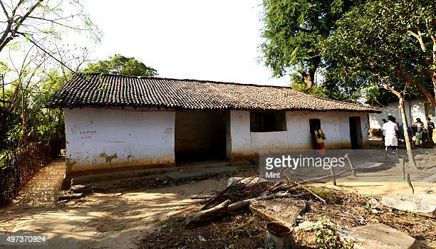 Haunted house of victims of witch hunting lie empty at Baralagra village on December 16 2013 in West Singhbhum India The house has been empty since...