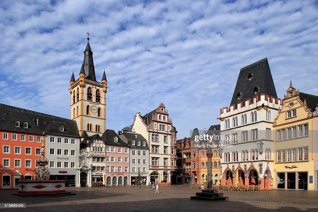 Hauptmarkt, Trier, Moselle, Germany