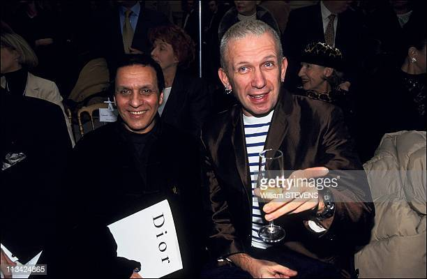 Haute Couture SpringSummer 97 Backstage On January1st 1997 In France Dior Fashion Show Azzedine Alaia Jean Paul Gaultier