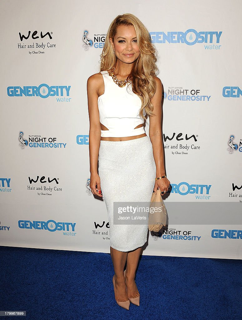 DJ Havana Brown attends Generosity Water's 5th annual Night of Generosity benefit at Beverly Hills Hotel on September 6, 2013 in Beverly Hills, California.
