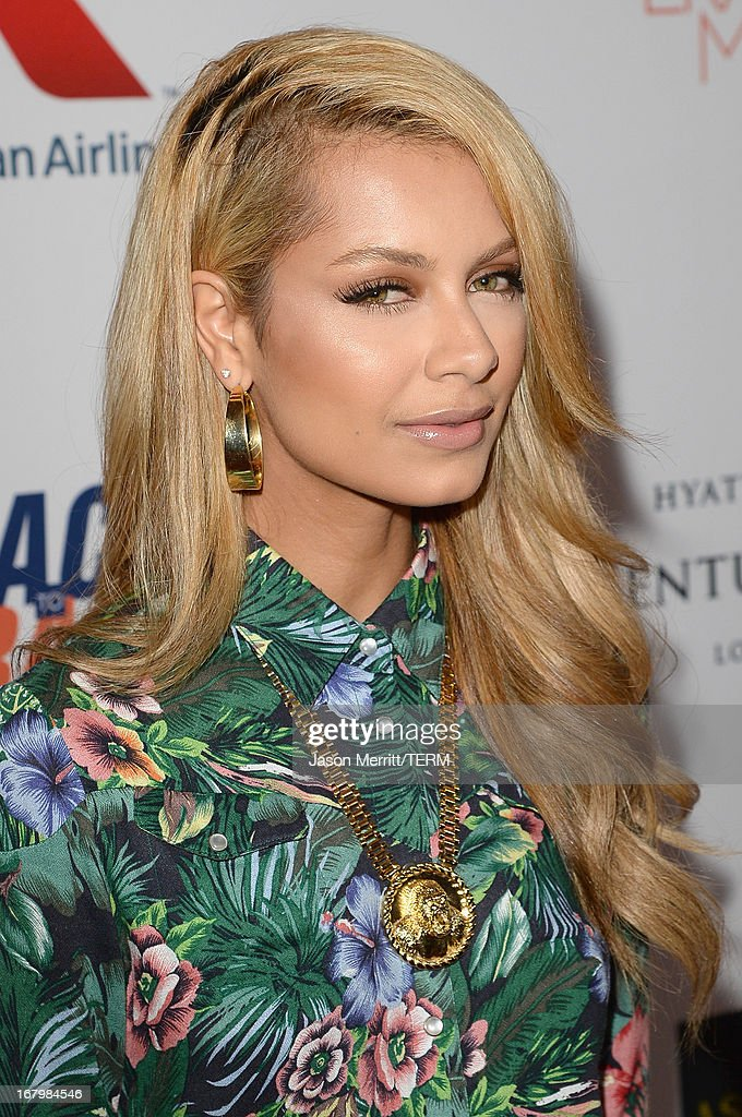 DJ Havana Brown attends the 20th Annual Race To Erase MS Gala 'Love To Erase MS' at the Hyatt Regency Century Plaza on May 3, 2013 in Century City, California.