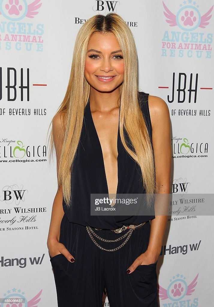 Havana Brown attends the Angels for Animal Rescue Benefit held at Jason Of Beverly Hills on December 10, 2013 in Beverly Hills, California.