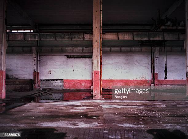 Havana Cuba Empty Industrial Building Backgrounds