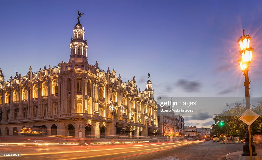 Havana, Cuba, the National Theater.