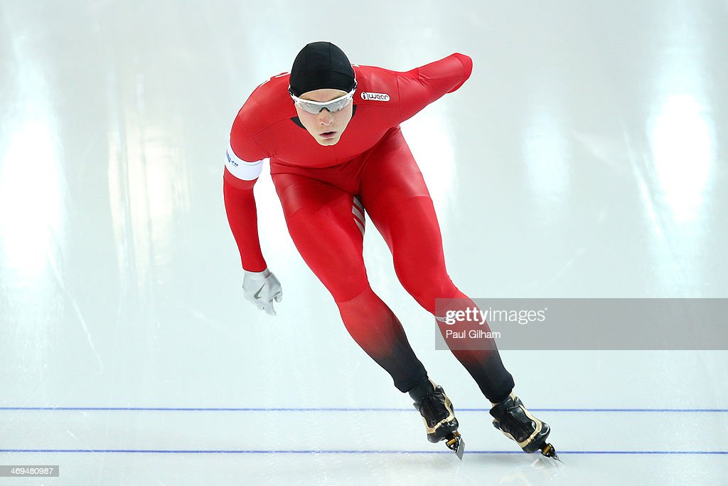 <a gi-track='captionPersonalityLinkClicked' href=/galleries/search?phrase=Havard+Bokko&family=editorial&specificpeople=725769 ng-click='$event.stopPropagation()'>Havard Bokko</a> of Norway competes during the Men's 1500m Speed Skating event on day 8 of the Sochi 2014 Winter Olympics at Adler Arena Skating Center on February 15, 2014 in Sochi, Russia.