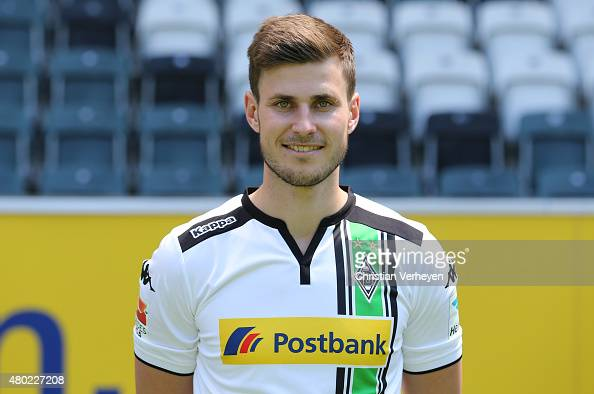 Havard Nordtveit of Borussia Moenchengladbach poses during the Borussia Moenchengladbach team presentation at BorussiaPark on July 10 2015 in...
