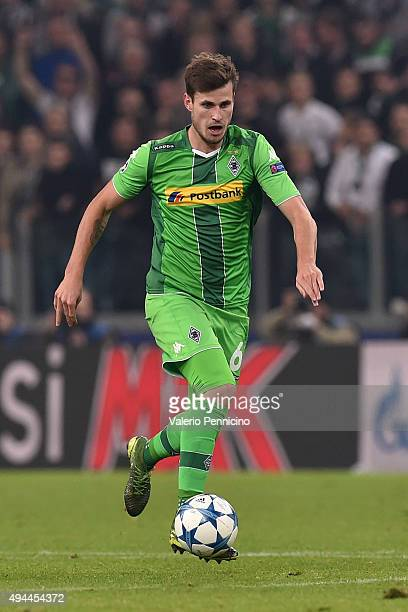 Havard Nordtveit of VfL Borussia Moenchengladbach in action during the UEFA Champions League group stage match between Juventus and VfL Borussia...