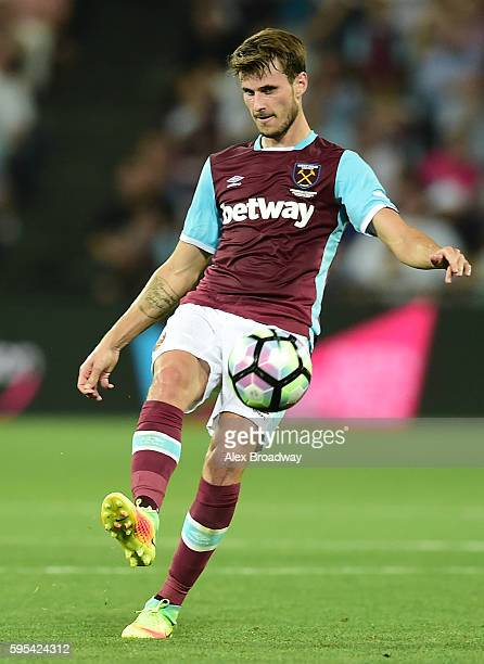 Havard Nordtveit of West Ham United in action during the UEFA Europa League match between West Ham United and FC Astra Giurgiu at The Olympic Stadium...