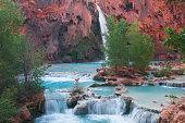 Havasupai Waterfall, Arizona, USA