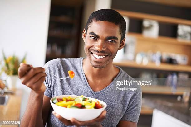 Einen gesunden Snack