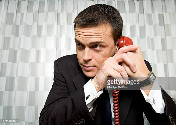 Ich habe eine Mutter am Telefon
