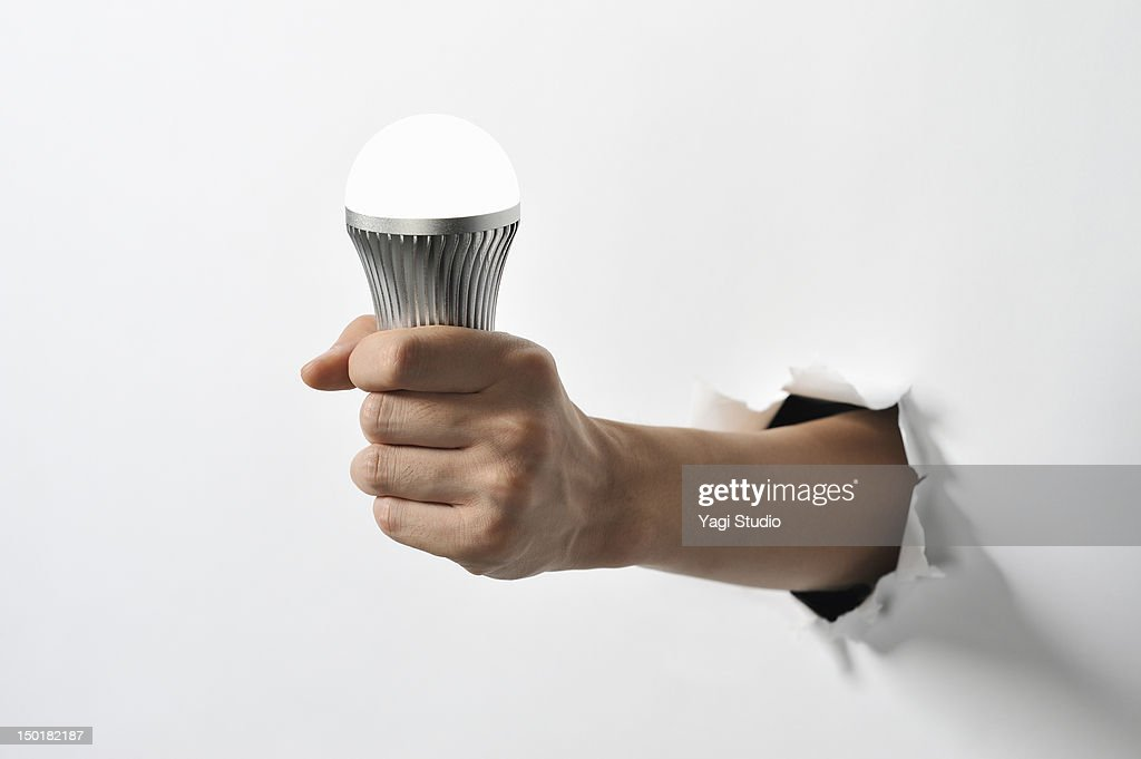 Have to get the LED light : Stock Photo