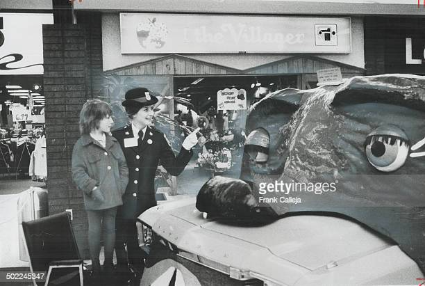 Have you ever met a talking car Police Week staged by the fourmonthold Peel Regional Police Force included its talking police car which Policewoman...