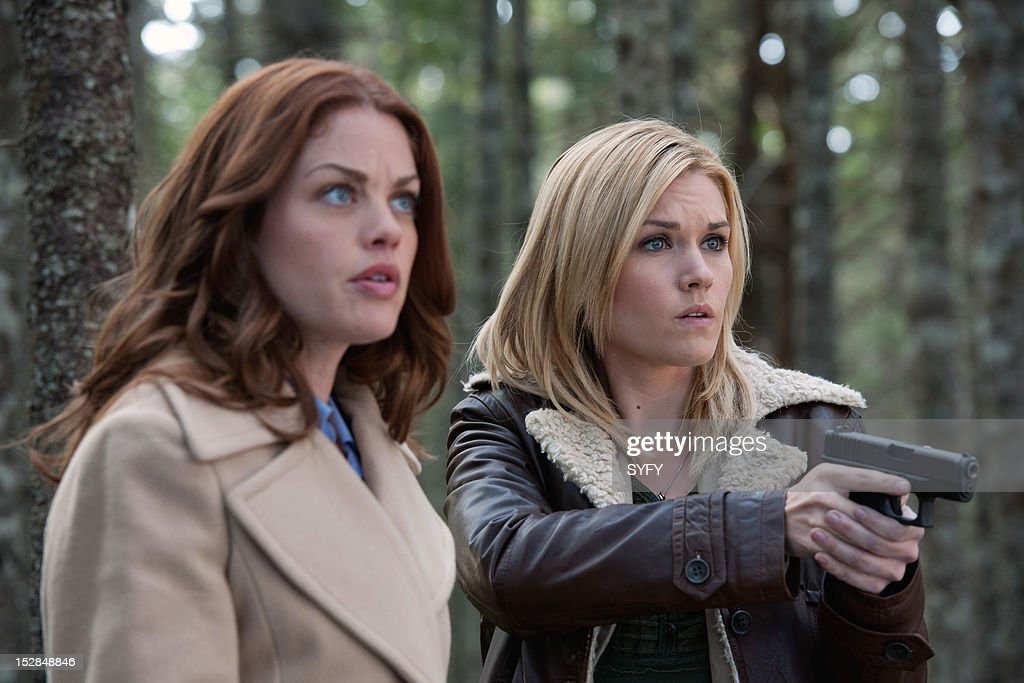 Haven -- 'Stay' Episode 302 -- Pictured: (l-r) Bree Williamson as Claire Callahan, Emily Rose as Audrey Parker --