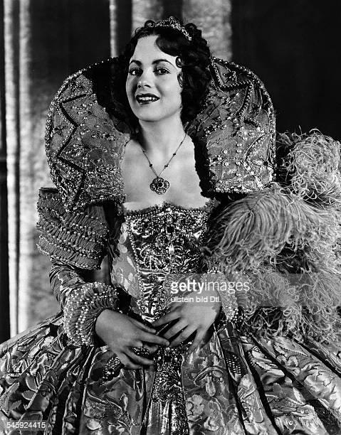 Havilland Olivia de *Schauspielerin USA Rollenportrait aus dem Film 'Der Sommernachtstraum'USA 1935
