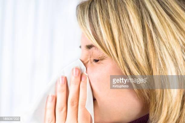 Com uma gripe?