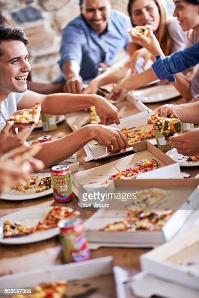 Avoir un bon moment avec un bon repas et des amis