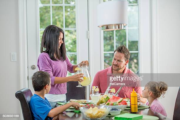 Having Dinner Together as a Family