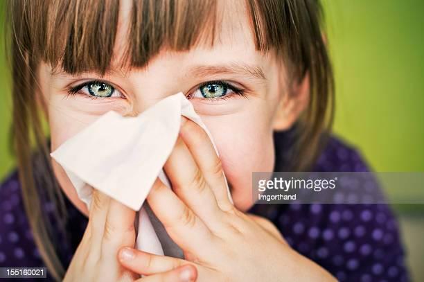 Divertimento pulizia naso