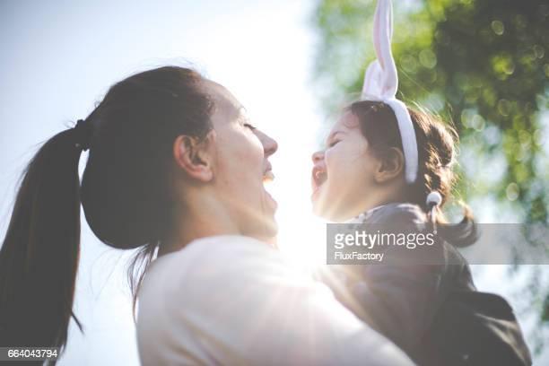 Having fun on Easter