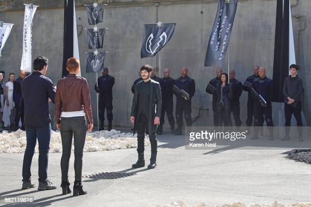 S INHUMANS 'Havoc in the Hidden Land' With only two episodes left this season The Royal Family returns to Attilan and comes facetoface with Maximus...