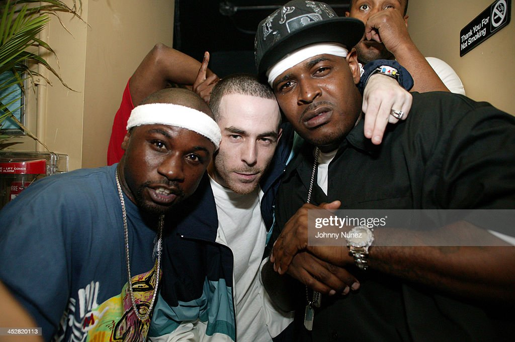 Havoc of Mobb Deep, Alchemist and Sheek Louch during Jadakiss' Kiss Of Death Album Release Party in New York City, New York, United States.