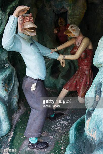 Haw Par Villa is a oneofakind theme park in Singapore with over a thousand statues and a hundred dioramas depicting scenes from Chinese mythology...