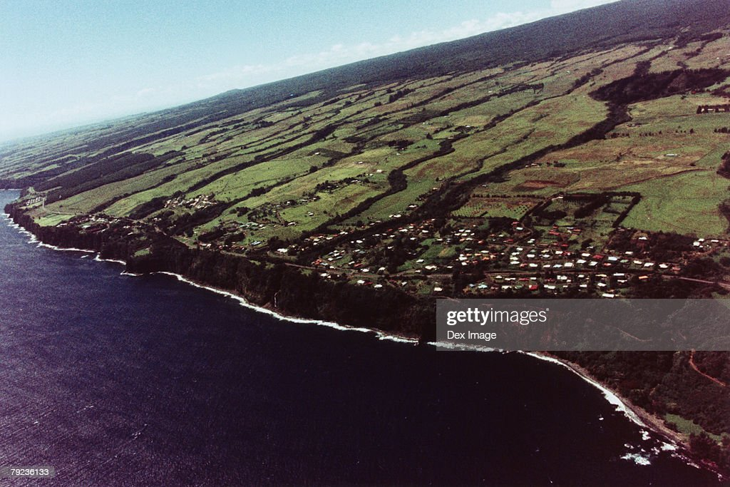 USA, Hawaii, Big Island, coast scenic : Stock Photo