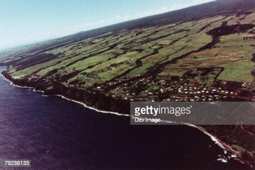 USA, Hawaii, Big Island, coast scenic : Stock Photo