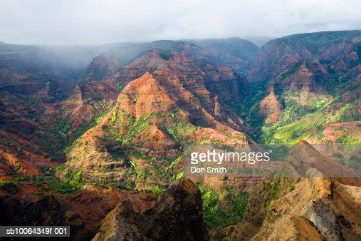 USA, Hawaii, Kauai, Waimea Canyon, landscape