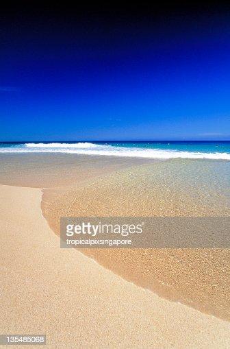 USA Hawaii O'ahu, North Shore, Sunset Beach.