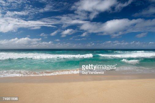 USA, Hawaii, Oahu, North Shore, Sunset Beach