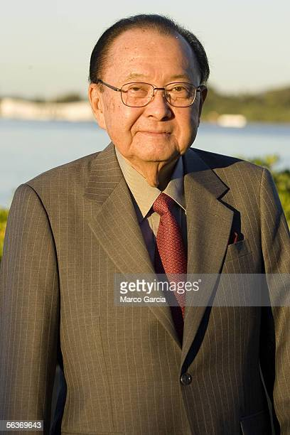 Hawaii Senator Daniel K Inouye waits for the start of the ceremony honoring the 64th anniversary of the surprise attack on Pearl Harbor December 7...