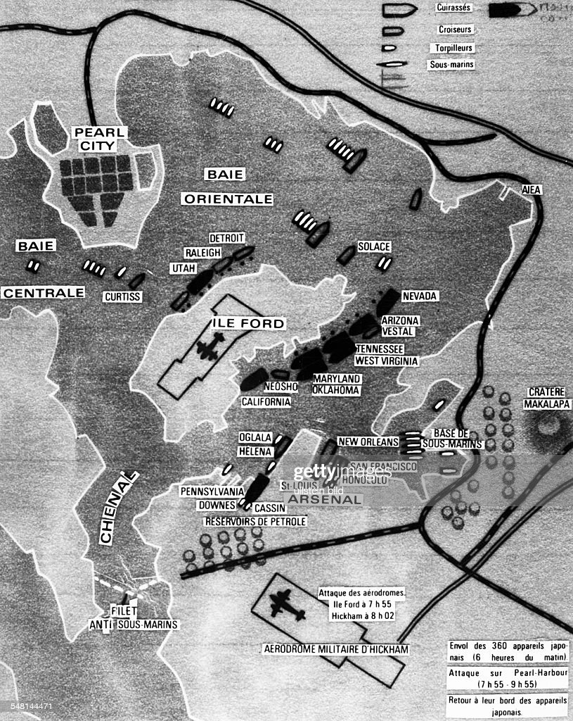 World War II Map of th...