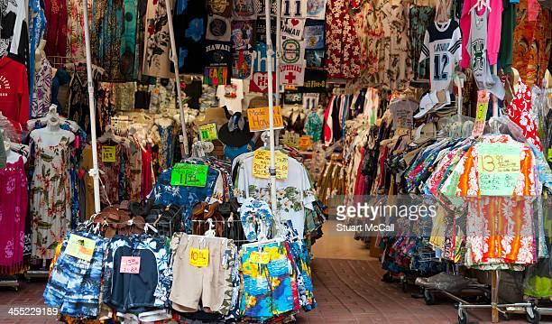 Hawaiian clothing vendor