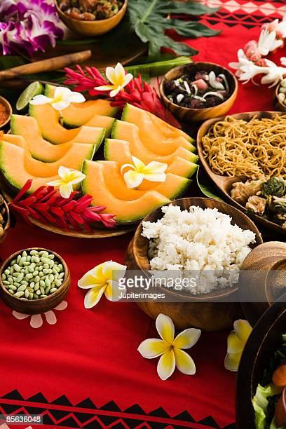Hawaiian picnic