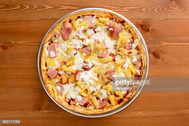 Hawaiian Thin Crust Pizza