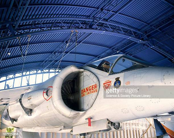 Hawker P1127 VSTOL Experimental Aircraft 1960 Hawker P1127 VSTOL Experimental Aircraft 1960 This photograph shows the nozzles used to vector thrust...